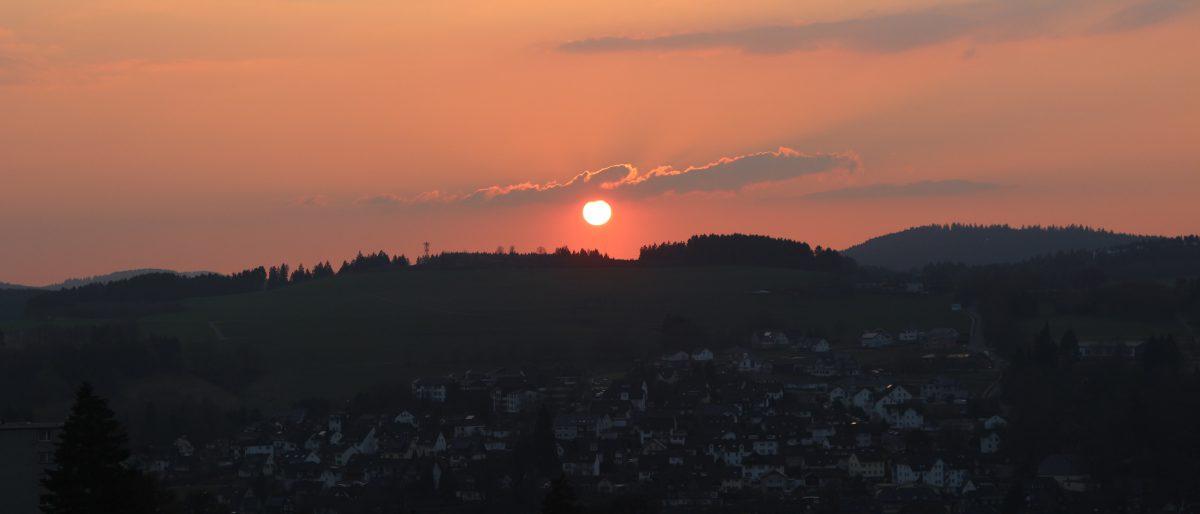 Permalink auf:Sonnenuntergang